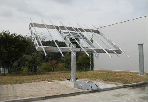 Dual Axis Solar Tracker From Kwang Dong Megatech B2b